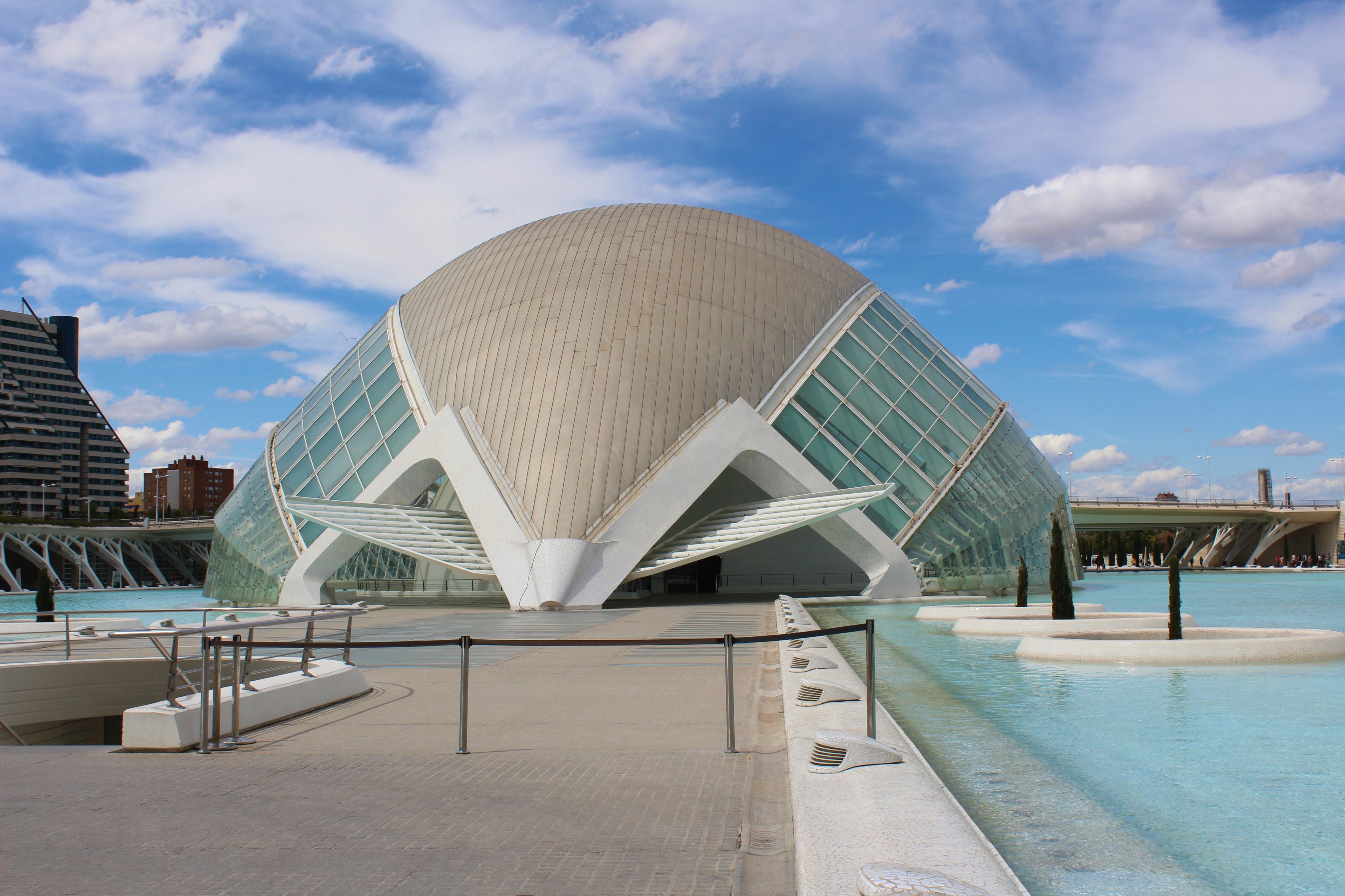 cidade das artes e das ciencias valencia espanha