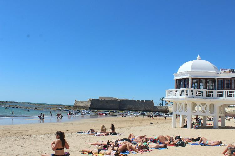 Playa de La Caleta Cadiz