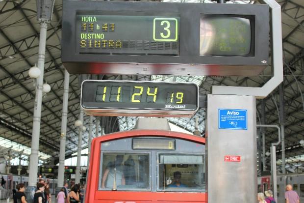 Estação Rossio. Trem para Sintra