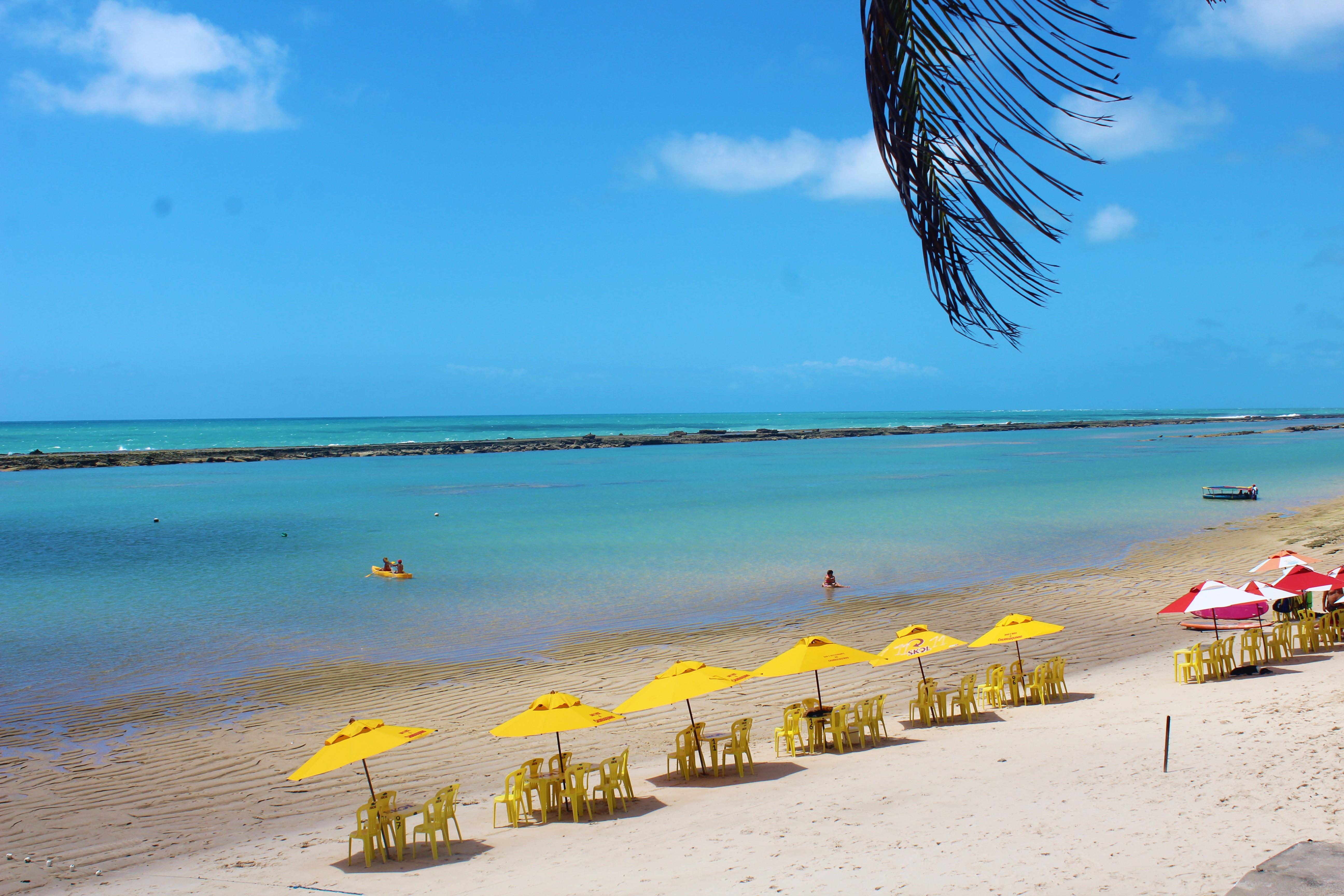 melhores praias de alagoas