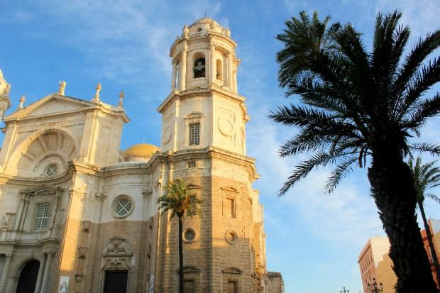 Catedral de Cádiz no Centro Histórico espanha