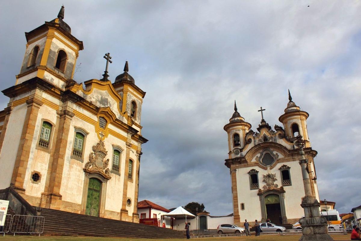 Roteiro pelas 10 igrejas mais bonitas de Ouro Preto e Mariana!